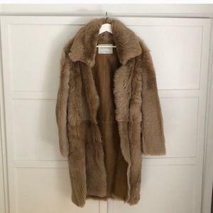 💜Last Price❤️Zara Studio %100 Lamb Skin Coat